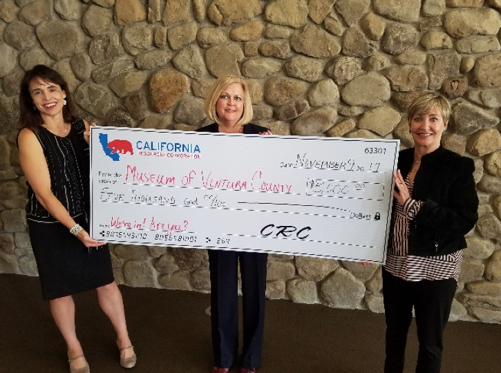 Museum of Ventura County, California Resources Corporation Host a 'Moment of Gratitude'