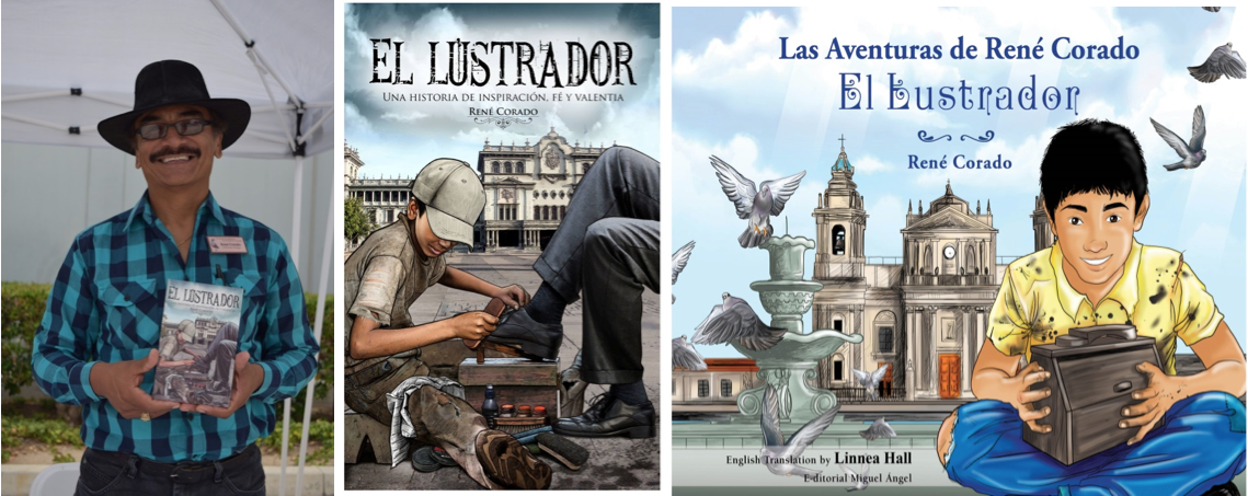Oxnard author René Corado returns from Costa Rica to participate in local author fair on Nov. 12