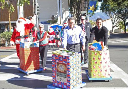 Dec. 13 — Holiday Toy Parade Rolling into Downtown Santa Barbara