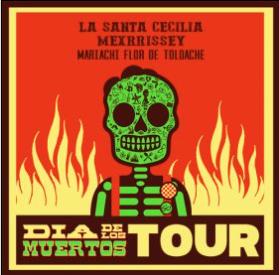 Nov. 3 — La Santa Cecilia's Día de los Muertos Tour arrives at UCSB