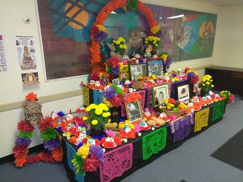 The Oxnard Housing Authority Resident Services Program at La Colonia Neighborhood brings the community together to celebrate Dia de los Muertos