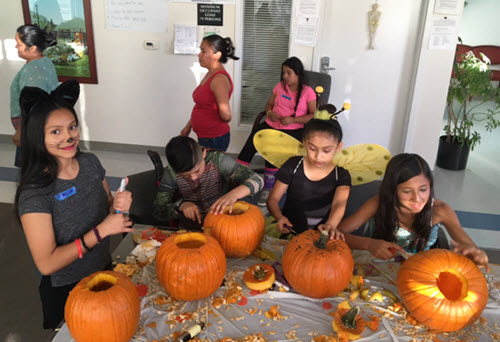Halloween brings community, residents together at the Villas at Higuera affordable housing complex