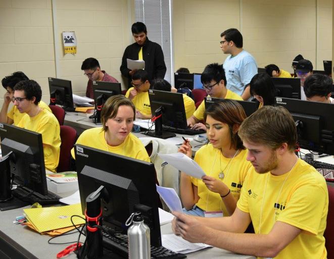 CSUCI Computer Science team places in top 10 in prestigious regional contest