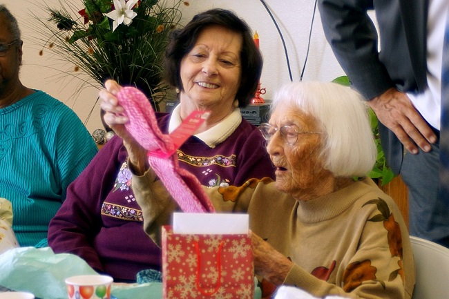 Peoples' Self-Help Housing Resident Celebrates 105th Birthday at Creekside Gardens
