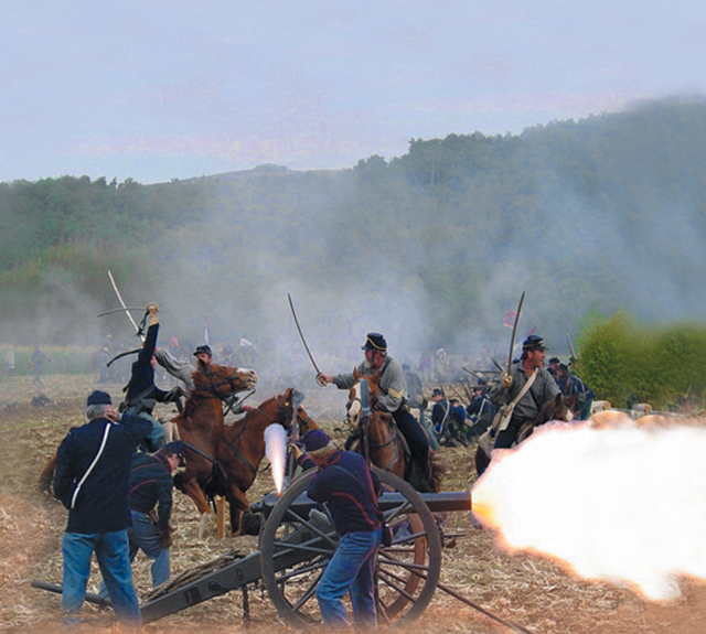 March 17-18 — 2018 The Blue & The Gray Civil War Reenactment