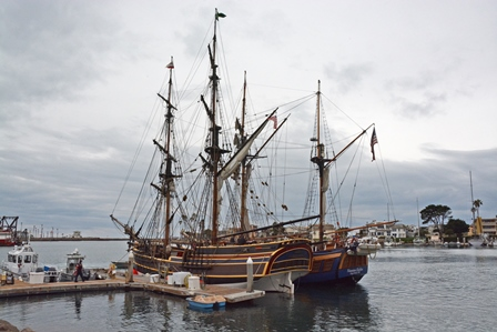 Through Feb. 13 — Channel Islands Harbor Welcomes back Tall Ships