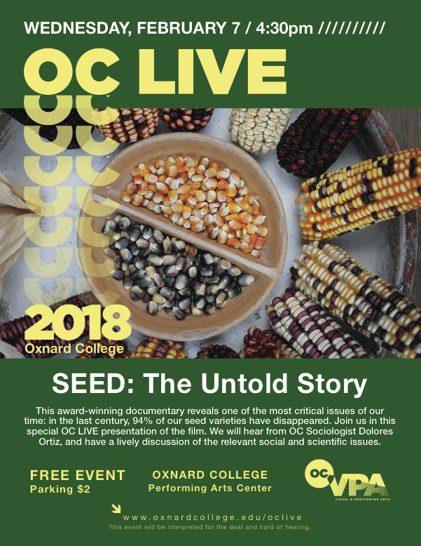OC LIVE to present the film screening of 'SEED: The Untold Story' on Feb. 7