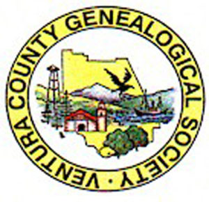 March 17 — Ventura County Genealogical Society presents a Free Family History Presentation