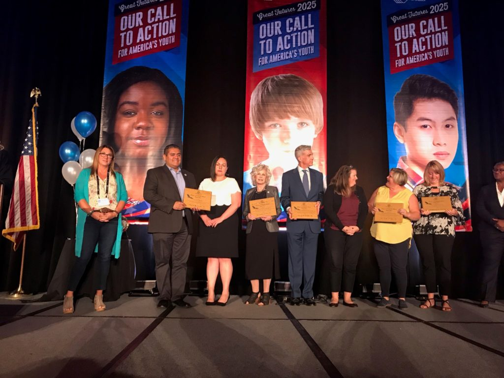 Boys & Girls Clubs of Greater Conejo Valley Receive the 2018 League of E.A.G.L.E.S. Bronze Award Presented by the Boys & Girls Clubs of America