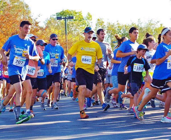 "Nov. 22 — Conejo Valley YMCA's 14th Annual ""Turkey Day Dash"" on Thanksgiving Morning"