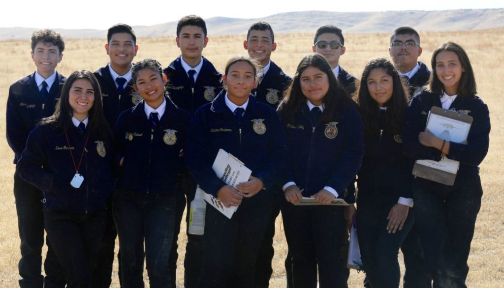 Three Pioneer Valley High School FFA Soil, and Land Evaluation Teams sweep the competition