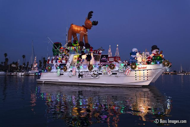 Dec. 8 — 53rd Annual Holiday Parade of Lights at Channel Islands Harbor
