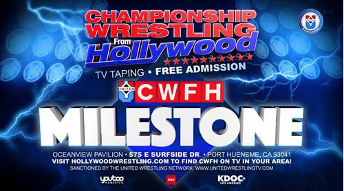 Dec. 9 — Oceanview Pavilion presents LIVE Championship Wrestling from Hollywood