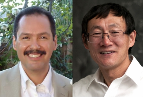 The American Mathematical Society awards fellowships to UCSB's Hector Ceniceros and Zhenghan Wang
