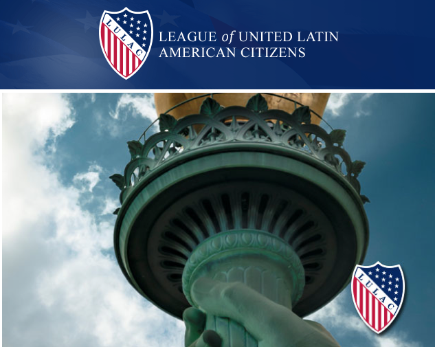 LULAC — Our millions of votes clamored: PRESENTE!