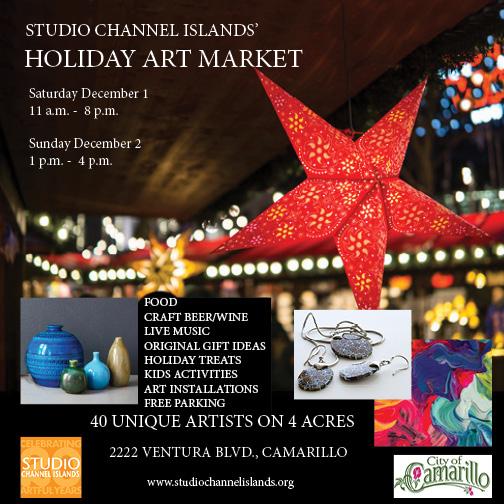 Dec  1 — Studio Channel Islands Hosts Annual Holiday Art