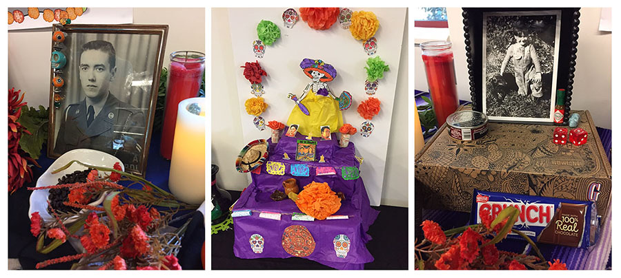 Altars, crafts, face-painting, a 'sand tapestry' all part of CSUCI Day of the Dead celebration on Nov. 1