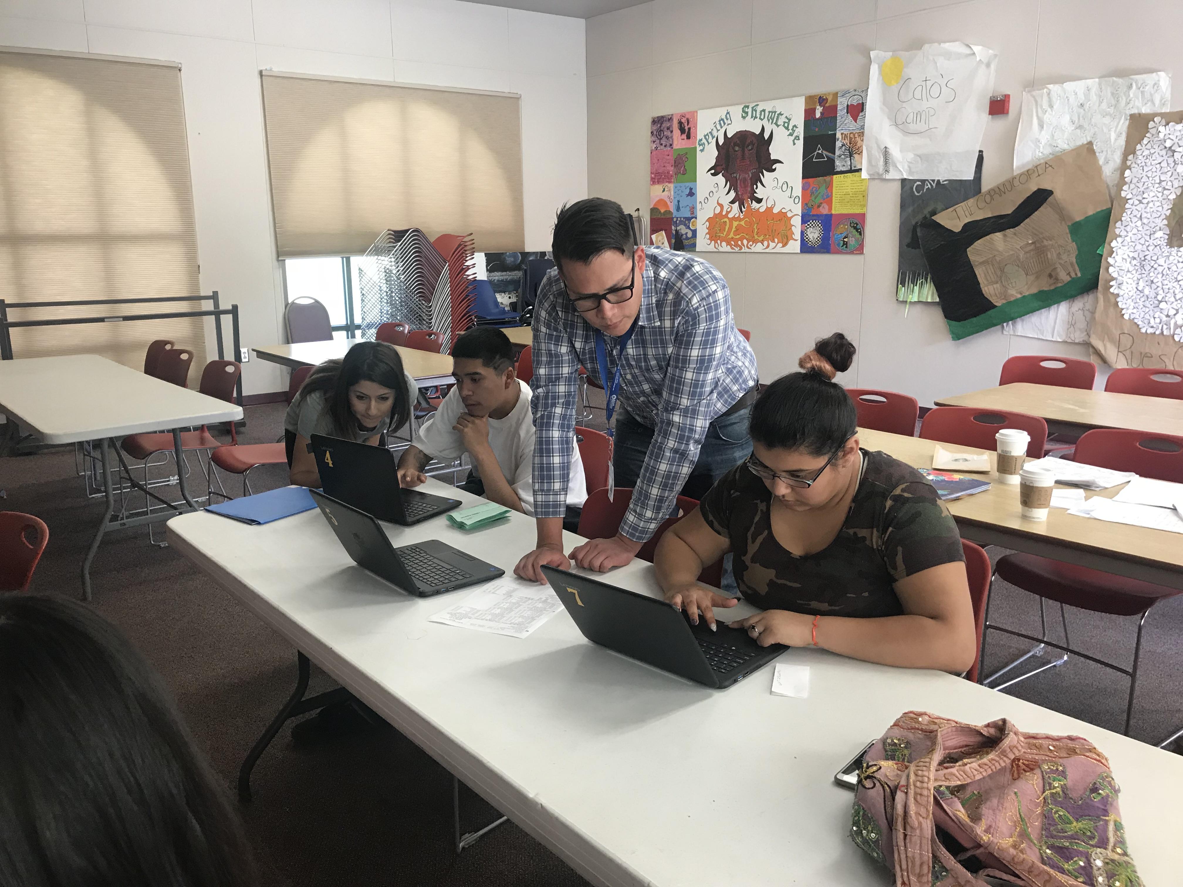 Santa Maria s Delta High School students ting help meeting their