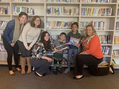 Cottage Health Employees, United Way Spread Joy to Elementary Students