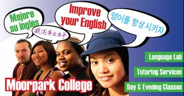 Free English classes at Moorpark College