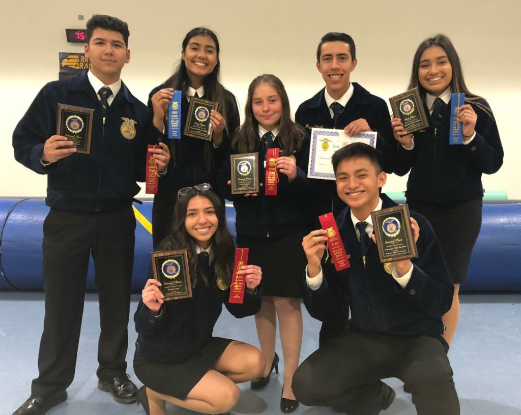 Pioneer Valley FFA dominate at Regional Speaking Finals