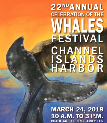March 24 — Celebration of the Whales Festival Offers Family Fun, Prizes, and Chalk Art