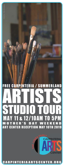 May 9 through 20 —  2019 Artists Studio Tour Group Show