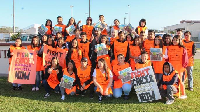 Santa Maria High School ASB students participate in Day of Hope campaign