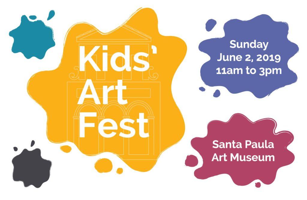 June 2 — Free Kids' Art Fest at the Santa Paula Art Museum