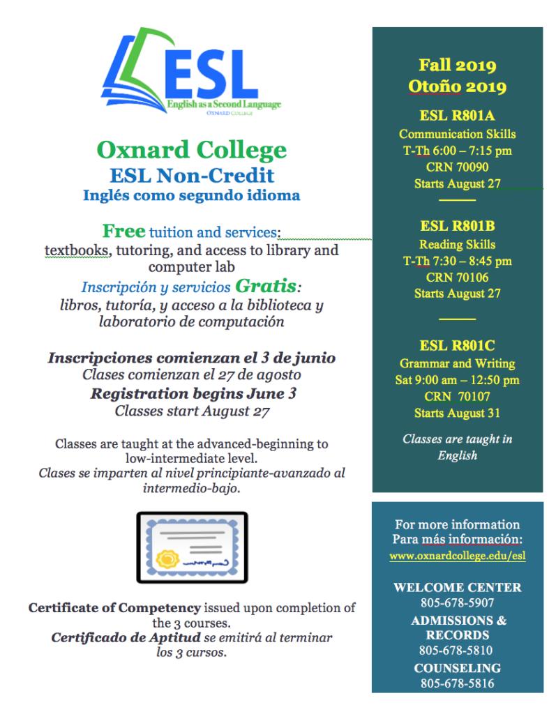 Oxnard College Expands English as a Second Language Program