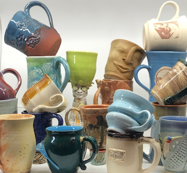 May 18 — Ventura County Potters' Guild Gallery to present Marvelous Mug Marketplace